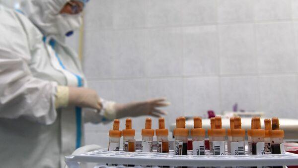 Тестирование россиян на наличие антител к COVID-19 в Москве - Sputnik Аҧсны