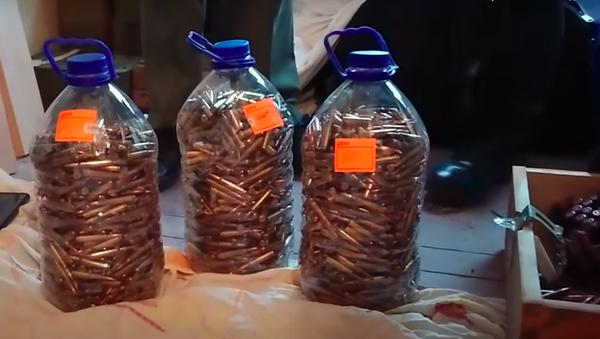 Схрон оружия в Сухуме - Sputnik Абхазия