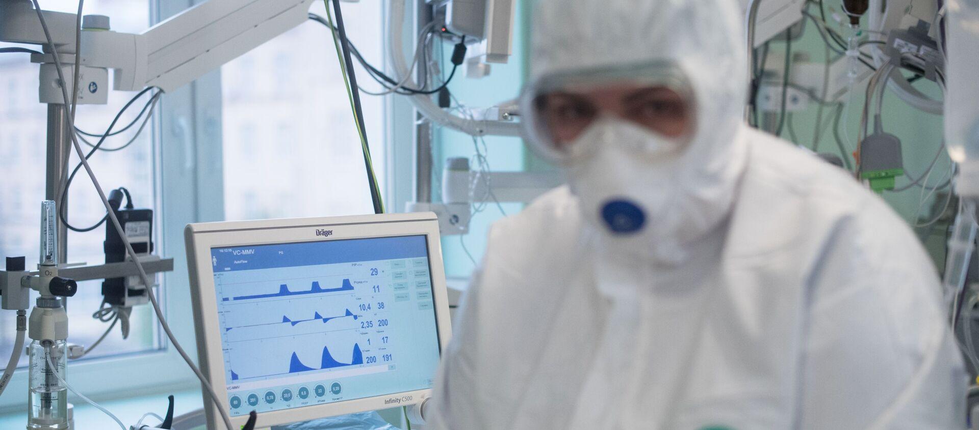 Центр НМИЦ здоровья детей Минздрава РФ, где проходят лечение дети с COVID-19  - Sputnik Абхазия, 1920, 16.05.2020