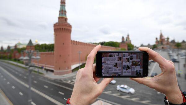 Акция Бессмертный полк в Москве - Sputnik Абхазия