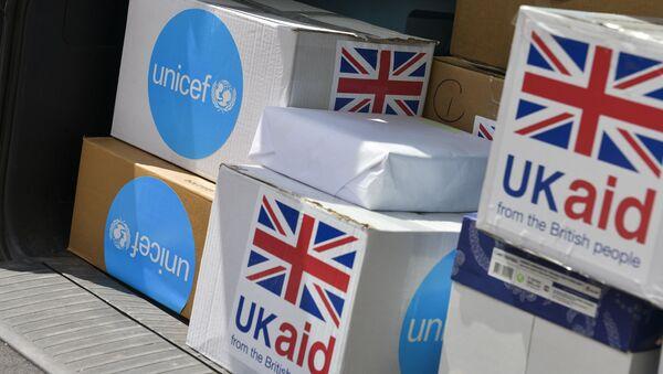 Министерство здравоохранения получит первую партию гуманитарного груза от ЮНИСЕФ со средствами индивидуальной защиты - Sputnik Аҧсны