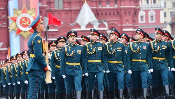 Военный парад, посвящённый 74-й годовщине Победы в Великой Отечественной войне - Sputnik Абхазия