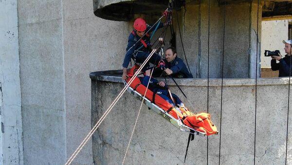 Операция Пламя: как готовят спасателей Абхазии - Sputnik Абхазия