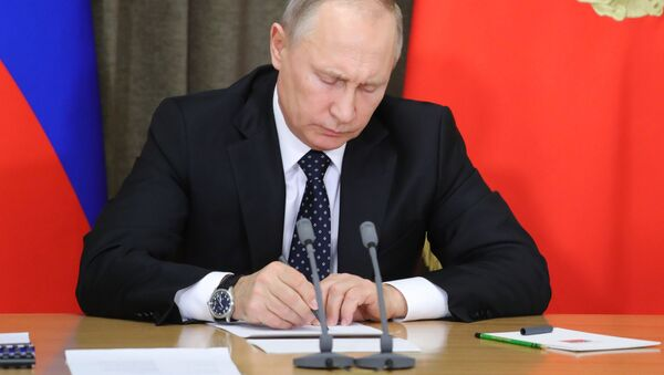Президент РФ В. Путин провел совещание по вопросам обеспечения технического переоснащения Вооруженных сил - Sputnik Абхазия