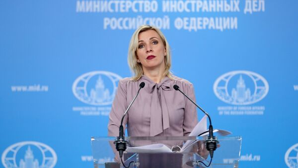 Брифинг официального представителя МИД России М. Захаровой - Sputnik Абхазия