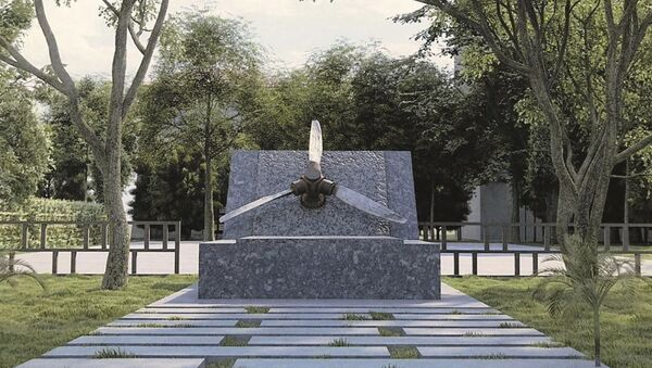 Винт от самолета времен Великой Отечественной войны - Sputnik Абхазия