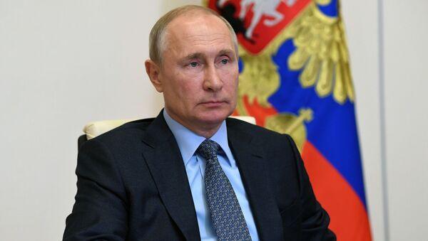 Президент РФ В. Путин провел совещание о реализации мер поддержки экономики и социальной сферы - Sputnik Аҧсны