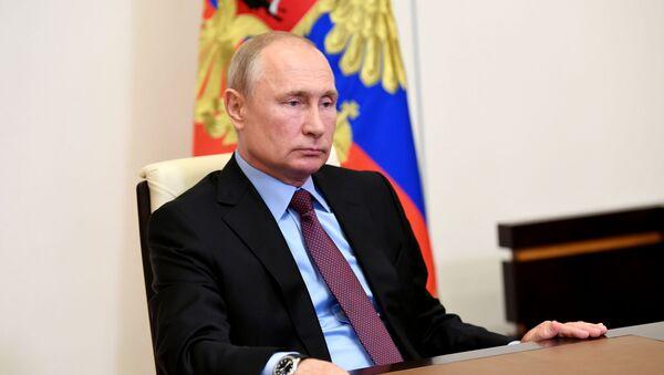 Президент РФ В. Путин провел заседание Совбеза РФ - Sputnik Абхазия