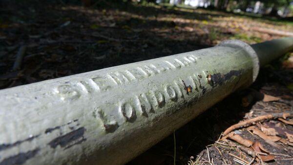 Столбы Индоевропейского телеграфа в парке Сказка - Sputnik Абхазия