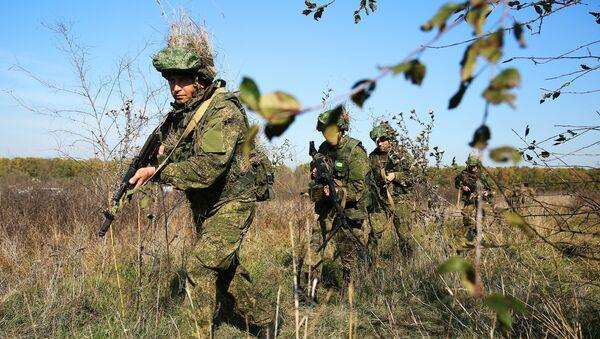 Учения соединения спецназначения ЮВО - Sputnik Абхазия