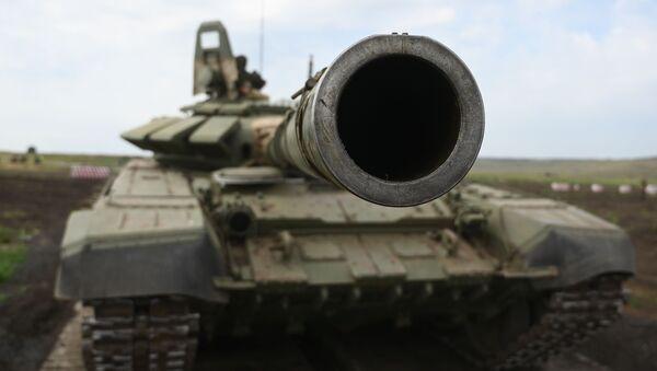 Тактические учения с мотострелковыми подразделениями ЮВО в Ростовской области - Sputnik Аҧсны