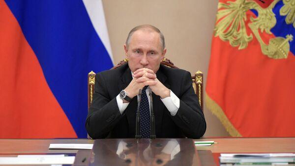 Президент РФ В.Путин провел совещание с членами правительства РФ - Sputnik Абхазия