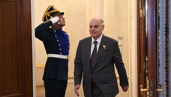 Встреча глав иностранных государств президентом РФ В. Путиным в Кремле - Sputnik Абхазия