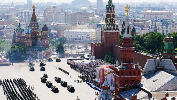 Военный парад в ознаменование 75-летия Победы на Красной площади - Sputnik Абхазия