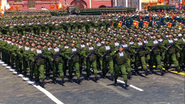 Как прошел парад Победы в Москве - Sputnik Абхазия