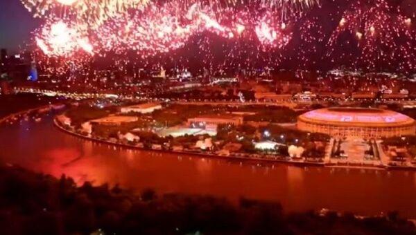 Праздничный салют в честь 75-ой годовщины Победы - Sputnik Абхазия