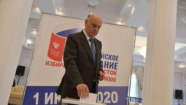 Президент  Абхазии проголосовал по поправкам в Конституцию России  - Sputnik Абхазия