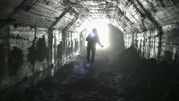 Подземная Абхазия - Штольня 8-й шахты в Акармаре - Sputnik Абхазия