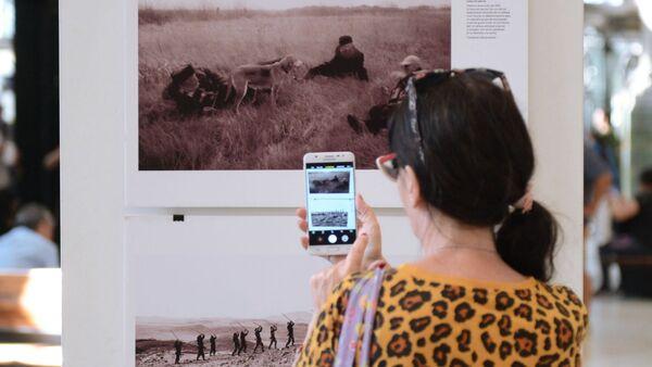 Открытие выставки победителей конкурса им. А. Стенина в Буэнос-Айресе - Sputnik Аҧсны