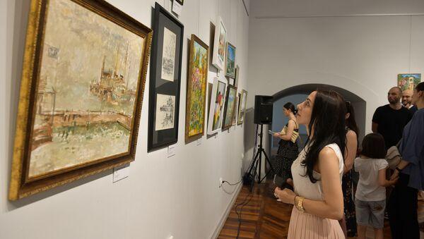 Выставка в ЦВЗ ко дню Сухума  - Sputnik Абхазия