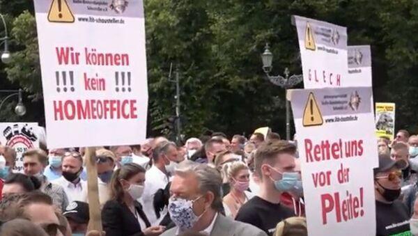Европу охватили массовые протесты из-за пандемии коронавируса - Sputnik Абхазия