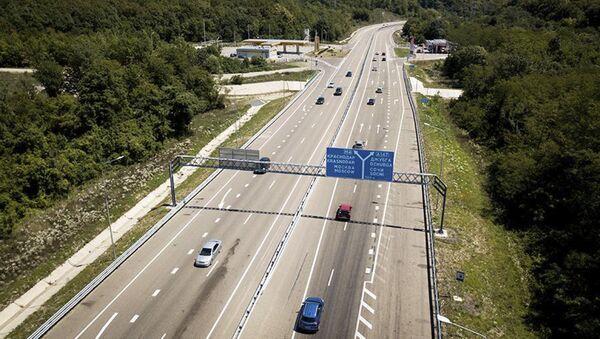 Протяженность новой трассы Джубга-Сочи составит 119 километров - Sputnik Абхазия