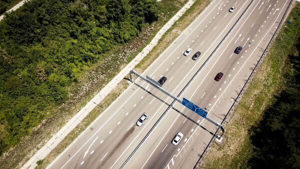 Участок автомобильной дороги Джубга - Сочи (А-147).  - Sputnik Аҧсны