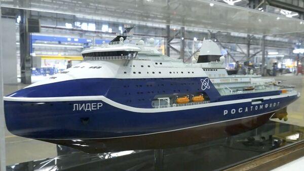 Россия начала строительство самого мощного в мире ледокола - Sputnik Абхазия