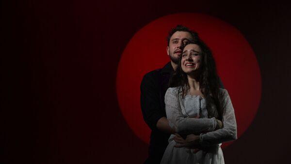 Предпремьерный показ спектакля - Кровавая свадьба в РУСДРАМе - Sputnik Аҧсны