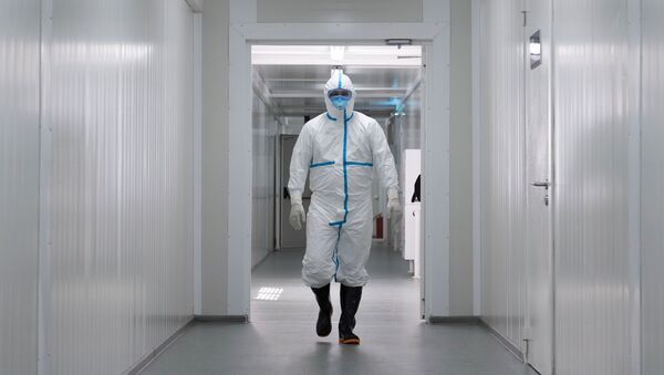 Городская клиническая инфекционная больница в Казахстане - Sputnik Абхазия